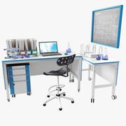 Laboratory Workplace 3d model