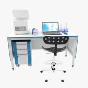Laboratory Workplace_4 3d model