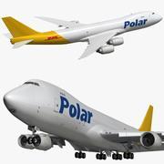 Boeing 747 8F Polar 3d model