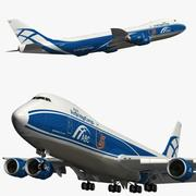 Boeing 747 8F Air Bridge Cargo 3d model