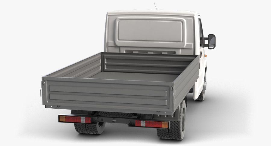 Gazzele Drop Side Truck royalty-free 3d model - Preview no. 9
