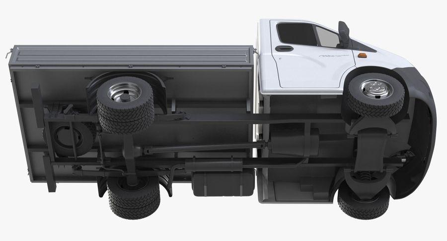 Gazzele Drop Side Truck royalty-free 3d model - Preview no. 10
