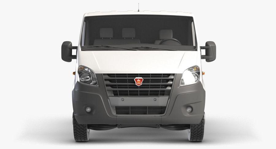 Gazzele Drop Side Truck royalty-free 3d model - Preview no. 4