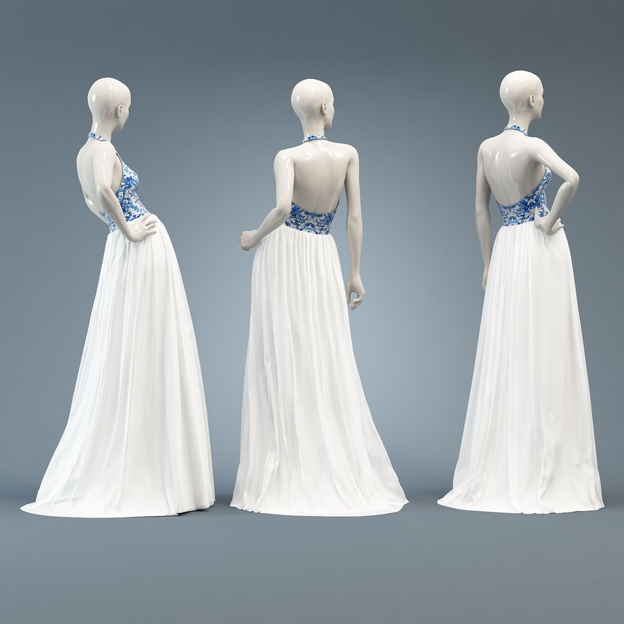 SHERRI HILL 51021 royalty-free 3d model - Preview no. 5