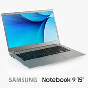 Samsung Notebook 9 15 pouces 3d model