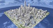 未来の都市 3d model