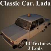 拉达 3d model