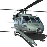 UH60 Blackhawk 3d model