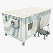 Przenośne biuro 3d model