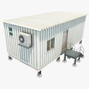 Bureau portable 3d model