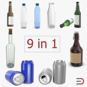 Bottles 3D模型收藏4 3d model