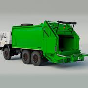 Kamaz Garbage-Truck 3d model