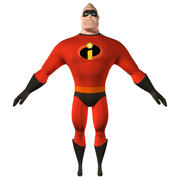 Mr Incredible 3d model