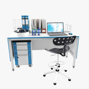 Лаборатория Рабочее место_5 3d model