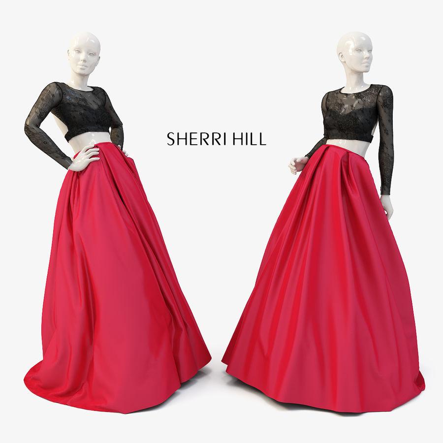 SHERRI HILL 50357 royalty-free 3d model - Preview no. 1