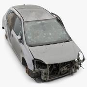 Scrapyard RAW 3D Scan 01 (Honda Civic) 3d model