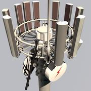 Cell Mobile phone repeater tower 3d model