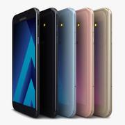 Samsung Galaxy A7 2017 Tutti i colori 3d model