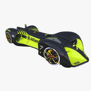 Roborace Car Formula E 3d model