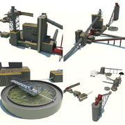 Zakład Przeróbki Węgla 3d model