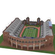 Campo dell'Università di Pennsylvania Franklin 3d model