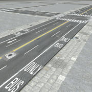 Strade di New York City 3d model