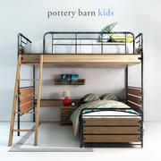 Celeiro de cerâmica, Owen Twin Loft Bed 3d model