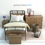 Celeiro de cerâmica, cama Owen 3d model
