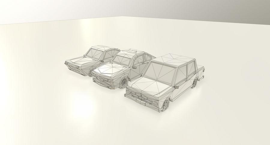 低聚汽车 royalty-free 3d model - Preview no. 5