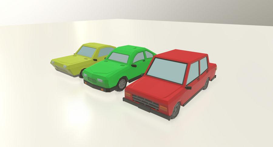 低聚汽车 royalty-free 3d model - Preview no. 2