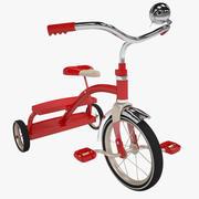 キッズ子供自転車自転車モデル 3d model