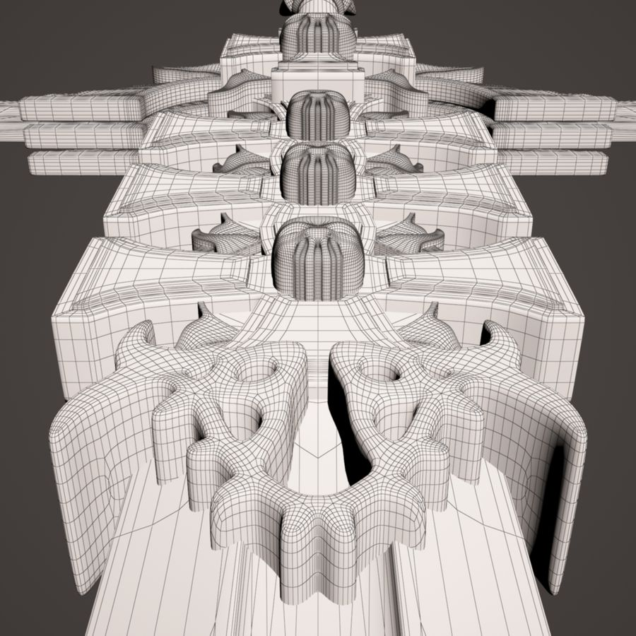 Fantasie zwaard royalty-free 3d model - Preview no. 20