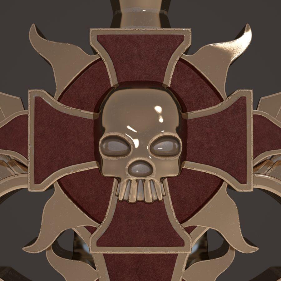 Fantasie zwaard royalty-free 3d model - Preview no. 9