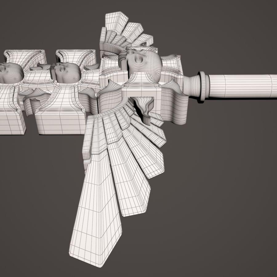 Fantasie zwaard royalty-free 3d model - Preview no. 16