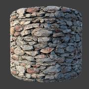 4k vray materiaal metselwerk, rotswand naadloze textuur 3d model