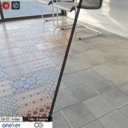 Oneker Çini Seti 22 3d model