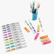 Markers Erasers 3d model