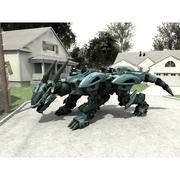 Drege Robo für Poser 3d model