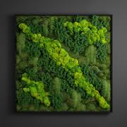 panel flora 3d model