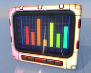 график 3d model