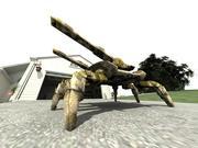 Spider Tank in obj format 3d model