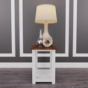 Marshone Cocktail Table and Suellen Cream lamp 3d model