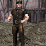 Wiktoriański bandyta dla Posera 3d model