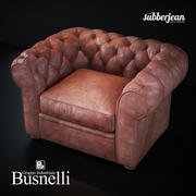 Busnelli Grande Walzer fauteuil 3d model