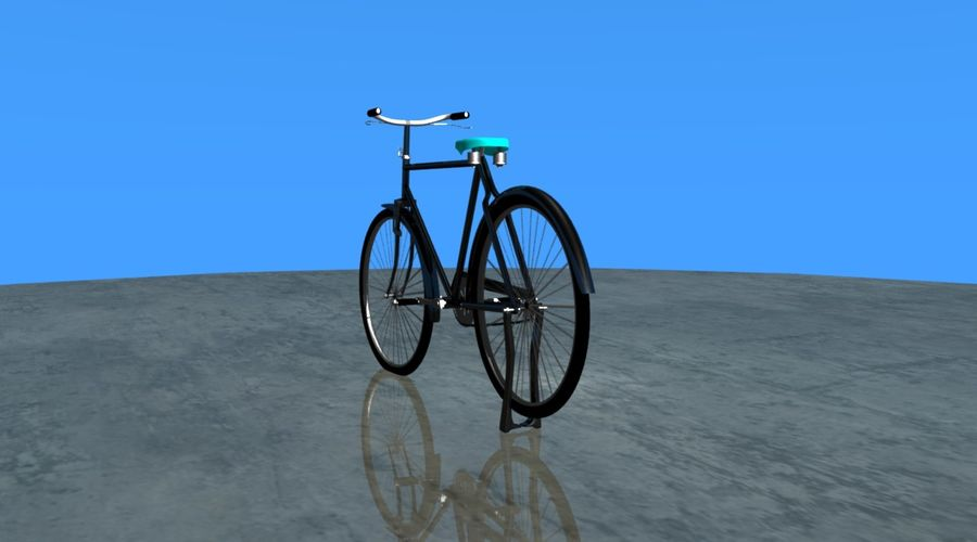 Cycle royalty-free 3d model - Preview no. 2