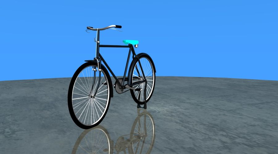 Cycle royalty-free 3d model - Preview no. 4