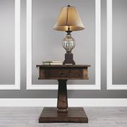 Table Zalarah with lamp Ondreya 3d model