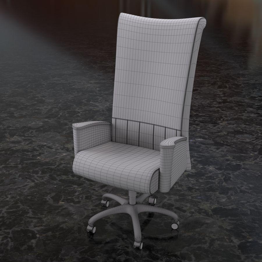 Bord & Stol Turri royalty-free 3d model - Preview no. 4