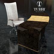 Bord & Stol Turri 3d model