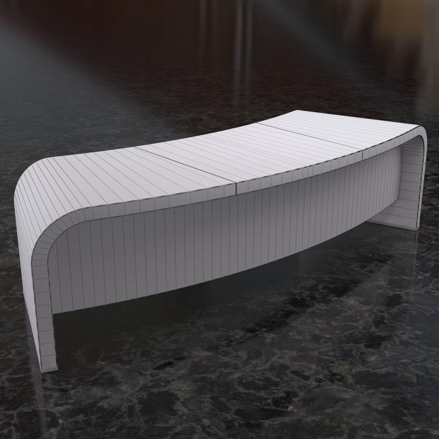 Bord & Stol Turri royalty-free 3d model - Preview no. 5